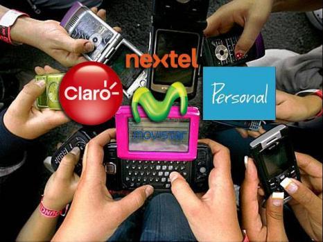 Companias de celulares en Argentina