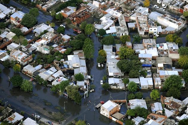 A un año de la inundacion en La Plata