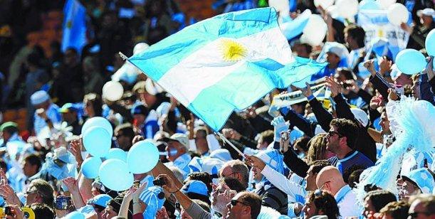 banderazo argentina en brasil